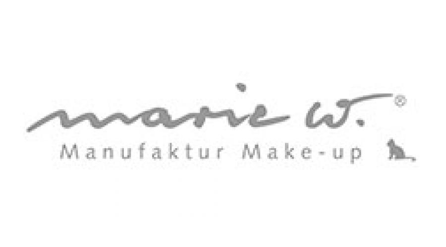 marie w. Manufaktur Make-Up
